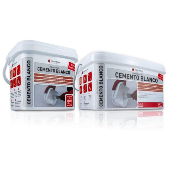 cemento blanco mortelan para reparaciones de todo tipo