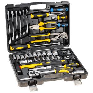 maletin de herramientas topex 56 piezas 38D224